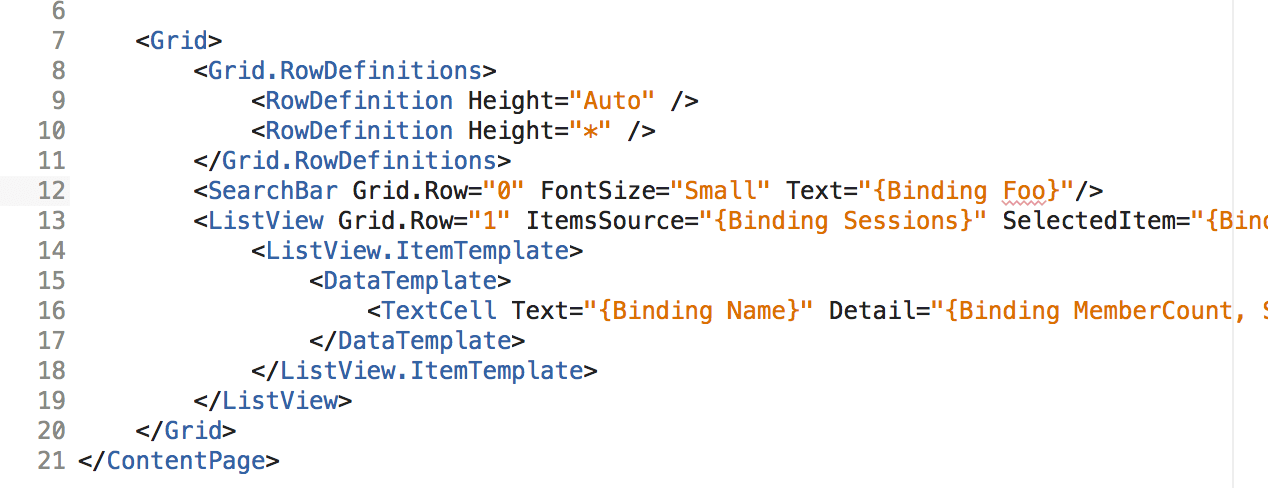 Introducing a new binding in XAML