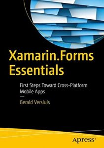 Xamarin.Forms Essentials cover