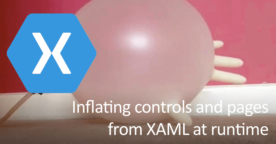 Loading controls and pages from a XAML string