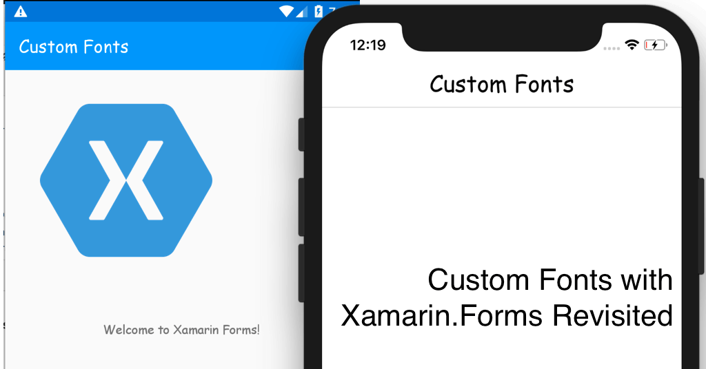 Custom Fonts on Xamarin.Forms Revisited