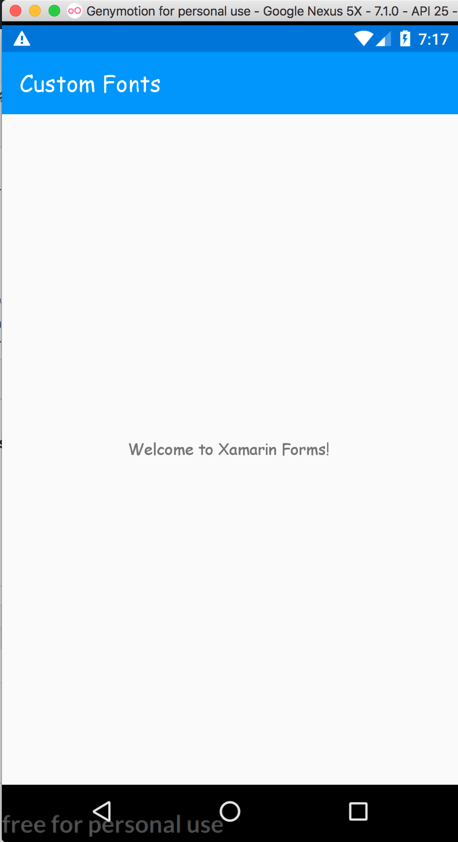 Custom Fonts with Xamarin Forms Revisited - Gerald Versluis