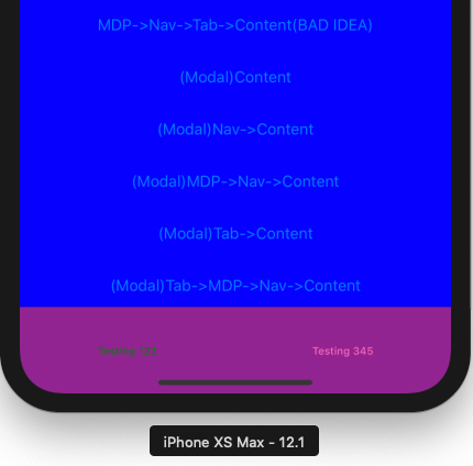 UnselectedTabColor and SelectedTabColor in action on iOS