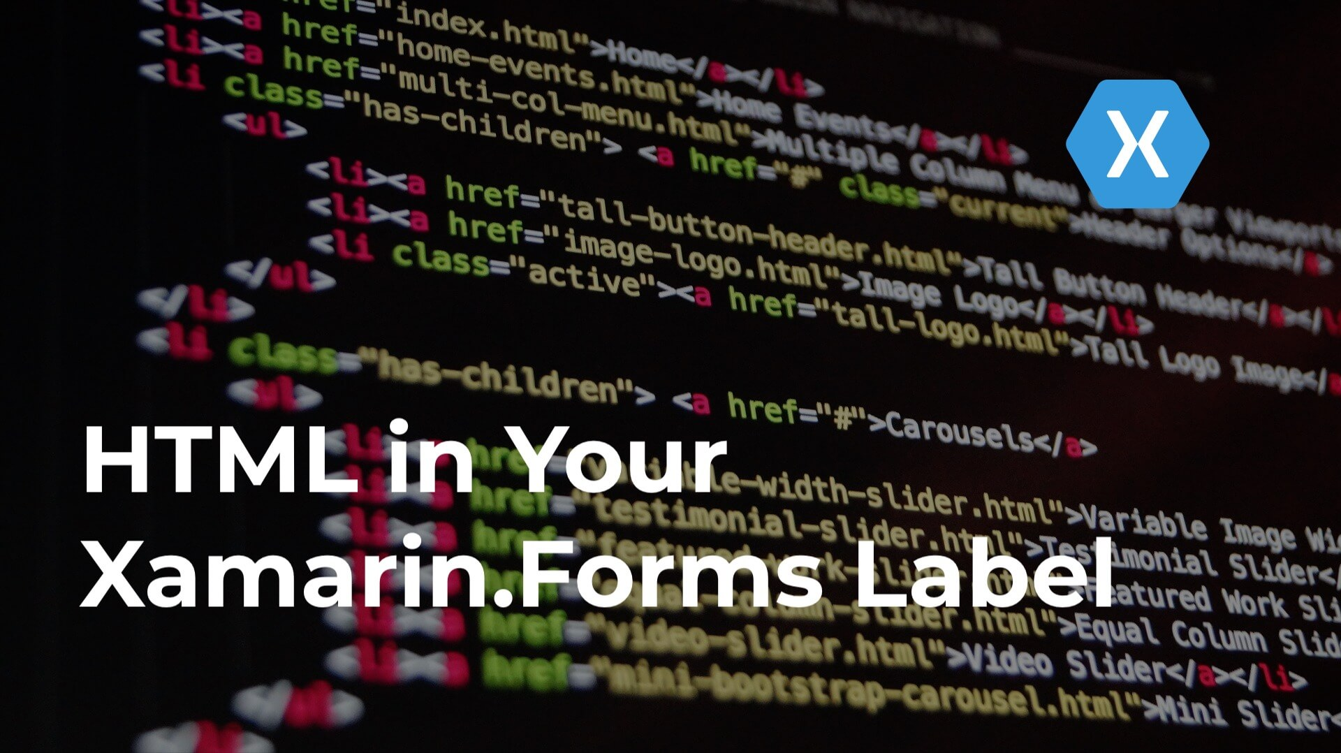 Hero image HTML in Your Xamarin.Forms Label